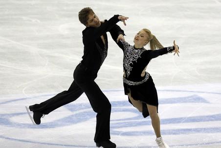 Короткий танец на ЧМ-2012 выиграли Тесса Вирту - Скотт Мойр, Елена Ильиных - Никита Кацалапов - 5-е