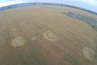 Круги на поле в Тольятти