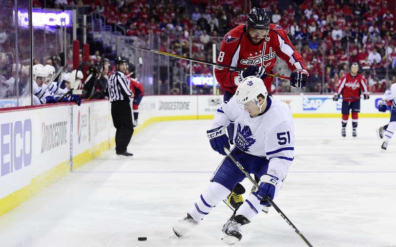 «Вашингтон» переиграл «Торонто» в 4-м матче плей-офф НХЛ