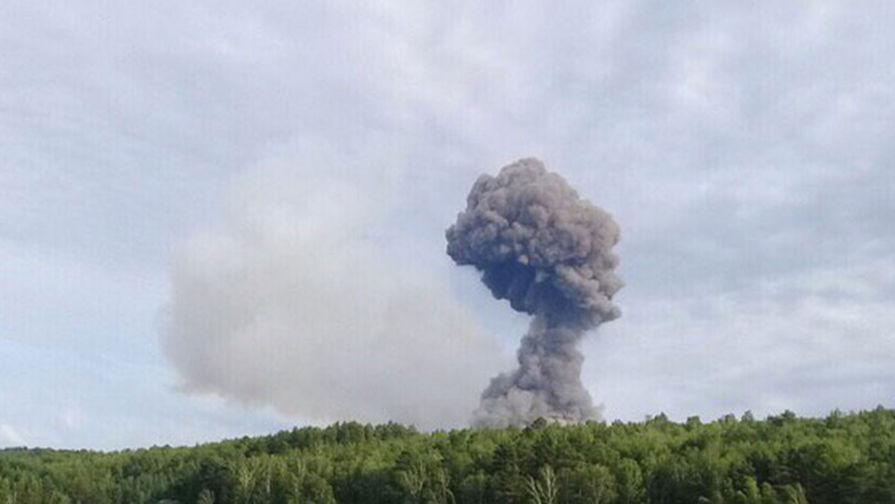 Пожар на военном складе в Ачинском районе ликвидирован