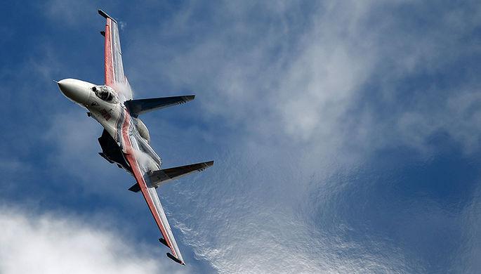 ВНеваде разбился русский боевой истребитель