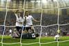 Мирослав Клозе отправил мяч в ворота, нанеся травму Михаилу Сифакису, так что гол засчитан не был