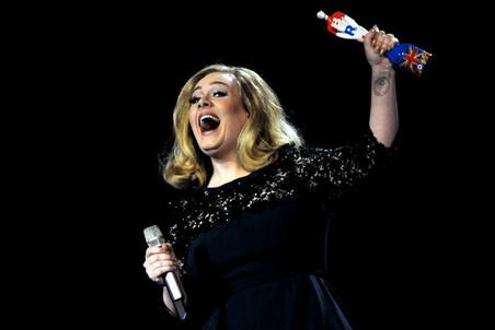 Победителями Brit Awards за 2011 год стали Адель и Эд Ширан