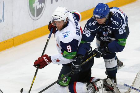 Динамо обыграло СКА в третьем матче полуфинала Кубка Гагарина