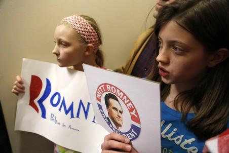 Выиграв праймериз сразу в трех штатах, Митт Ромни упрочивает свое лидерство в республиканской президентской гонке в США