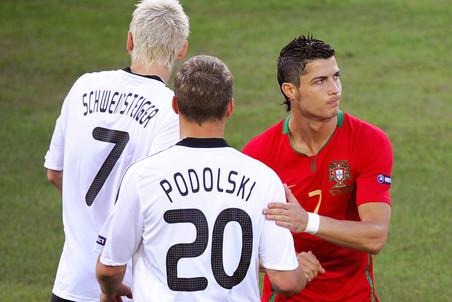 19 июня 2008 года. Португальцы в 1/4 финала Евро проиграли немцам