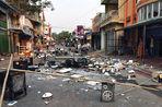 В Бирме буддисты устраивают погромы мусульманских кварталов, правозащитники обвиняют местные власти в геноциде