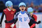 Два золота Виктора Ана подняли сборную России на второе место медальной таблицы Олимпиады в Сочи