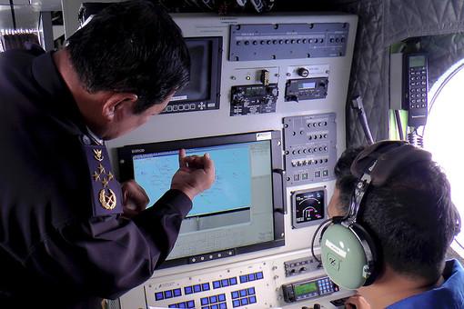 Поиск лайнера Boeing авиакомпании Malaysian Airlines в Южно-Китайском море