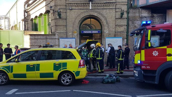 СМИ узнали национальность подозреваемых втеракте влондонском метро