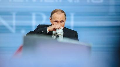Владимир Путин уверен, что российская экономика пошла в рост