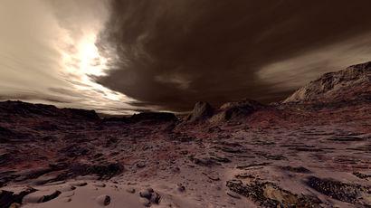 Два мегацунами раскрыли тайну марсианского океана