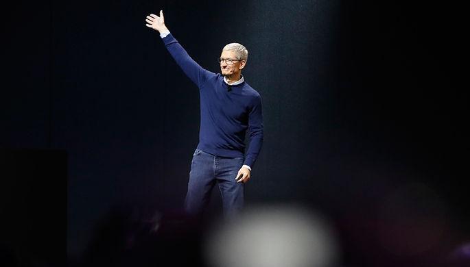 Руководитель Apple получил рекордную прибыль