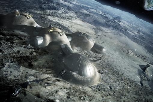 Так будет выглядеть база на Луне, созданная с помощью 3D-печати