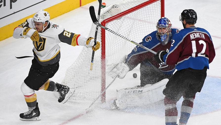«Вегас» обыграл «Сан-Хосе» истал вторым полуфиналистом плей-офф НХЛ
