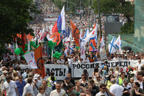 Moscow police say 15 000 people came to rally