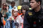 В результате взрыва в здании киношколы в центре Праги ранены более полусотни человек