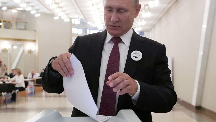 Справилсябы сработой мэром— Путин