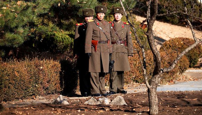 Солдат убежал изКНДР вЮжную Корею