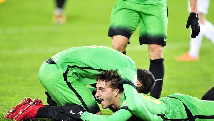 Тульский «Арсенал» ушел взимний отпуск вдесятке лидеров
