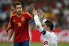 Роналду на фоне Хорди Альба вновь призывает судью зафиксировать фол