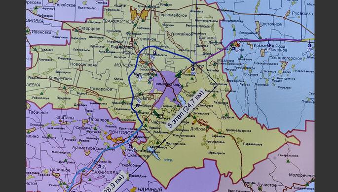 ВNew York Times поведали, почему возникла карта со«спортным» Крымом