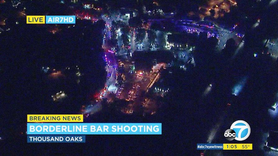 Под Лос-Анджелесом произошла стрельба вресторане, есть раненые