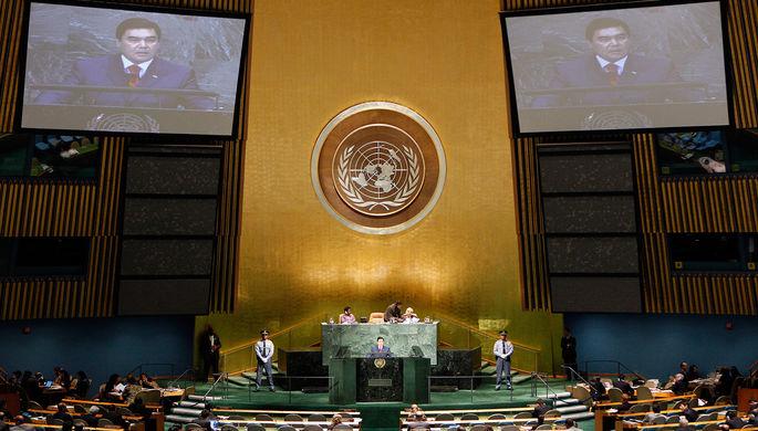 «Новая резолюция ООН поКрыму будет мощным сигналом русской оккупационной власти»— Порошенко