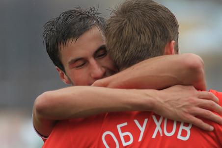 Молодежные составы «Спартака» и «Зенита» сыграли вничью