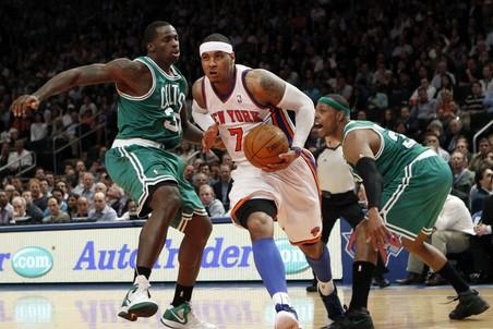 Нью-Йорк обыграл в домашнем матче Бостон