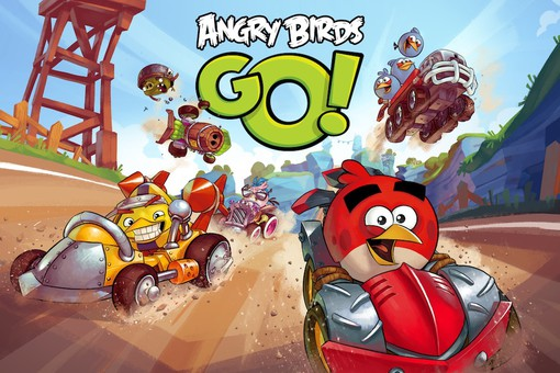 Angry Birds go! появилась на iOS, Android, Windows Phone и Blackberry