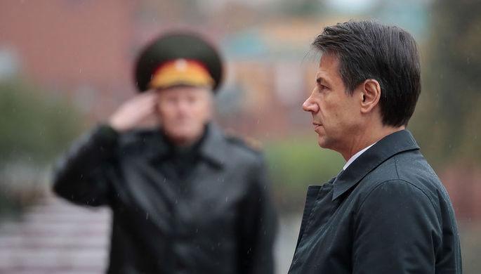 Руководитель МВД Италии назвал визит Конте в РФ необходимым