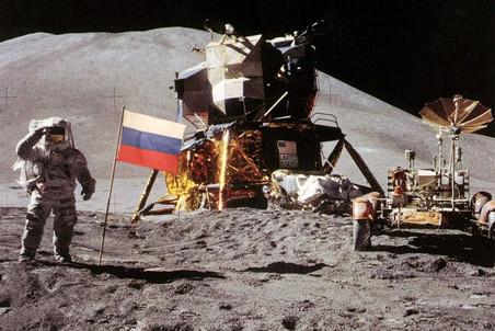 Россия собирается отправить космонавтов на Луну