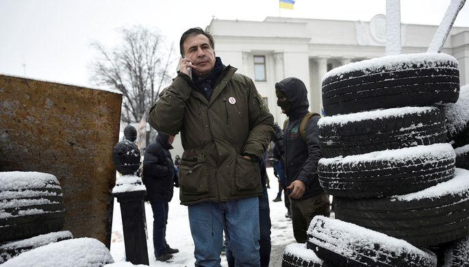 Мать Саакашвили высказалась озадержании своего сына