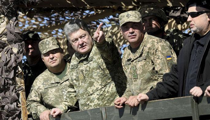 Порошенко пригрозил Российской Федерации украинской авиацией: «Цена будет очень высокой»