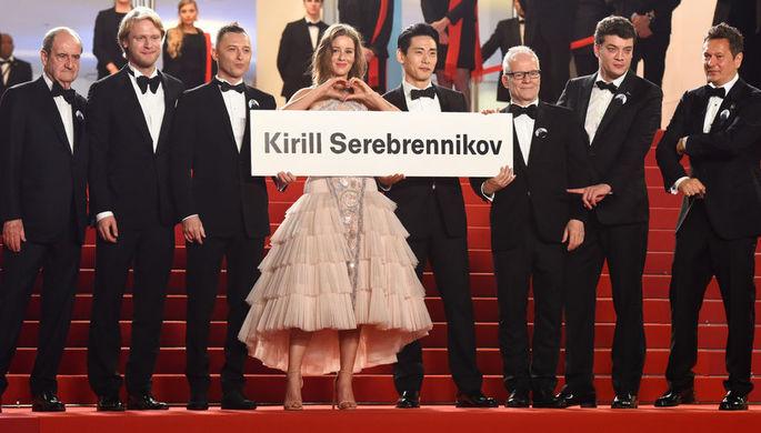 Русские знаменитости поддержали Серебренникова напремьере фильма оЦое— Наши вКаннах