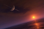 Под поверхностью Титана существует океан жидкой воды, считают ученые
