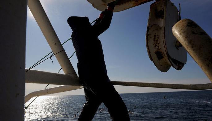 ВПриморье таможенники вновь задержали японское рыболовное судно