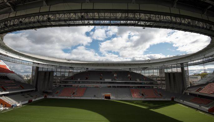 Первой игрой настадионе «Екатеринбург Арена» будет матч «Урал— Рубин»