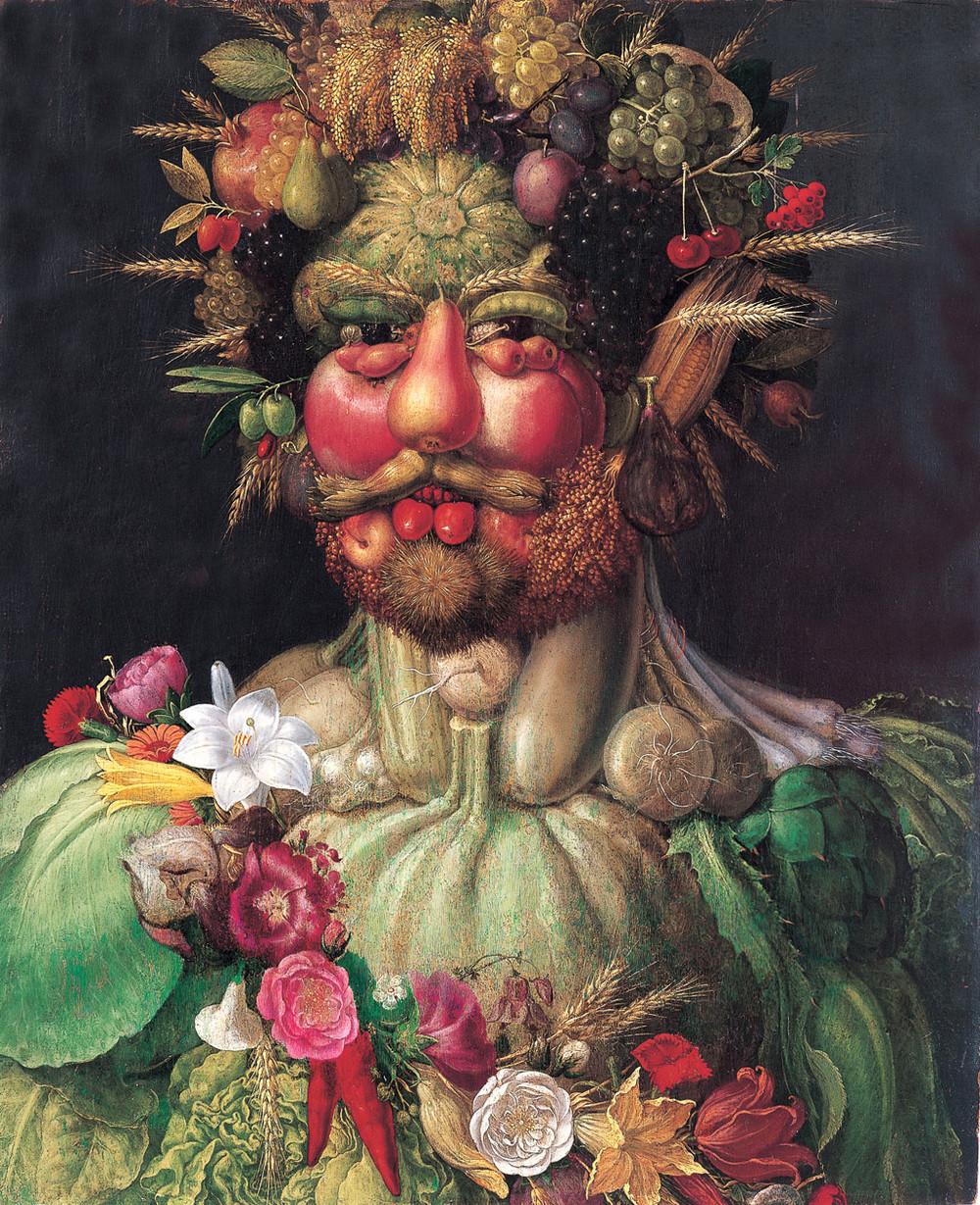 Картина из овощей