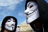 Anonymous взяли на себя ответственность за атаки на сайты Кремля, ЦБ и Первого канала