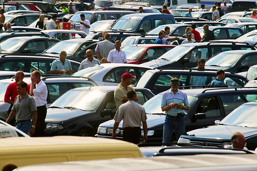 Работа рынка подержанных автомобилей