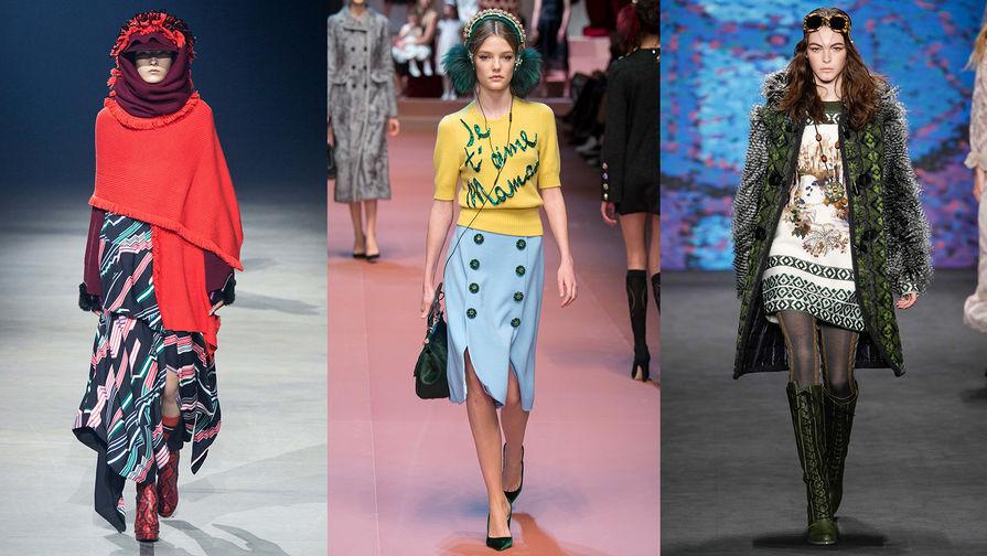 Kenzo, Dolce & Gabbana, Anna Sui