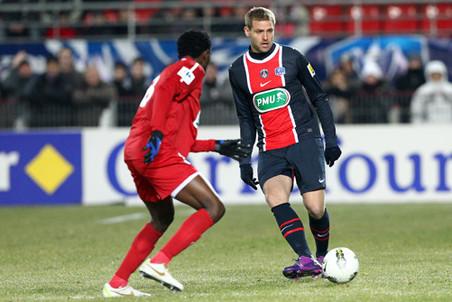 ПСЖ вышел в 1/4 финала Кубка Франции