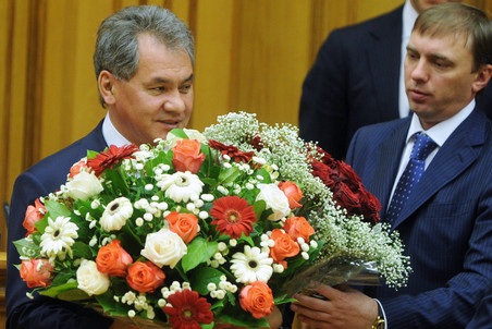 Sergey Shoigu has been heading the Emergency ministry since 1991