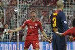 «Бавария» разгромила «Барселону» в первом полуфинале Лиги чемпионов
