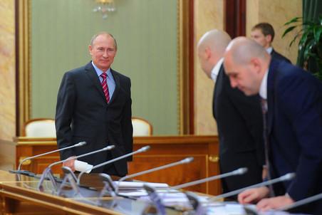 Владимир Путин провел третье заседание правительственного совета по кино