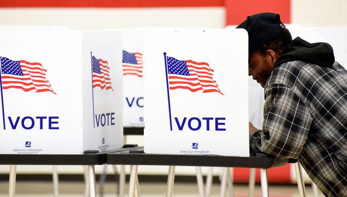 Навыборах вСША большинство всенате сохранили республиканцы