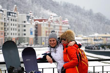 Открытие сезона на горнолыжном курорте «Роза Хутор»