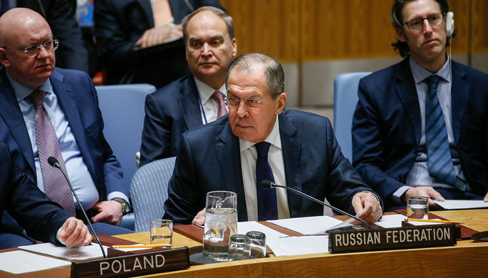Лавров: Россия неприсоединится кДоговору озапрещении ядерного оружия